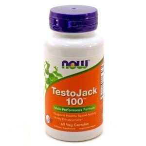 Репродуктивное здоровье мужчин, TestoJack 100, Now Foods, 60 кап