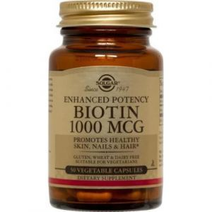 Биотин, Biotin, Solgar, 1000 мкг, 50 капсул (Default)