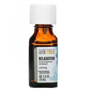 Эфирное масло для релаксации, Essential Oils, Aura Cacia, 15 мл (Default)
