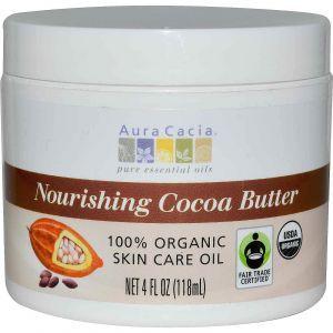 Масло какао, Aura Cacia, 118 мл.
