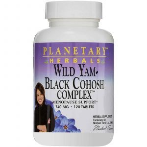 Дикий ямс, Planetary Herbals, 740 мг, 120 таблеток