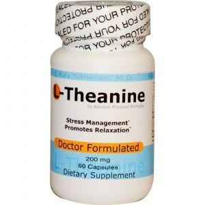 L-Теанин, Advance Physician Formulas, 60 капсул