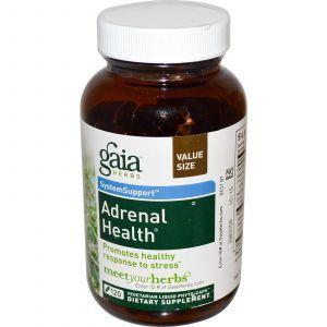 Поддержка надпочечников, Gaia Herbs, 120