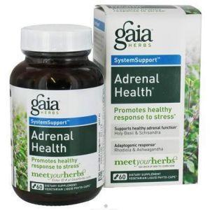 Поддержка надпочечников, Gaia Herbs, 60 ка