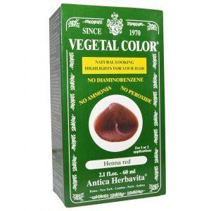 Краска для волос, Herbatint, красная хна, 60 мл.