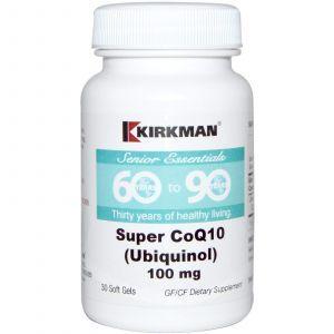 Коэнзим Q10, Kirkman Labs, 60+, 100 мг, 30 капсул