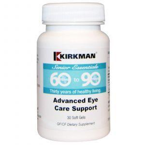 Витамины для глаз, 60+, Kirkman Labs, 30 капсул