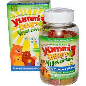 Витамины для детей, Hero Nutritional, мишки Ямми, 90 т.