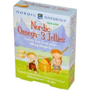 Рыбий жир для детей, Nordic Naturals, 36 желе