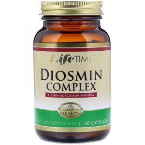 Диосмин комплекс, Diosmin Complex, Life Time, 60 капсул (Default)
