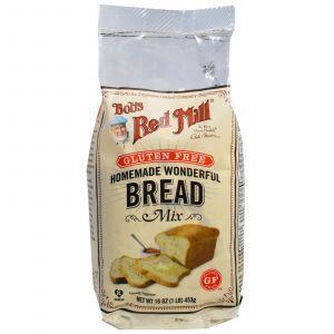 Хлеб микс (без глютена), Bread Mix, Bob's Red Mill, 453 грамм (Default)