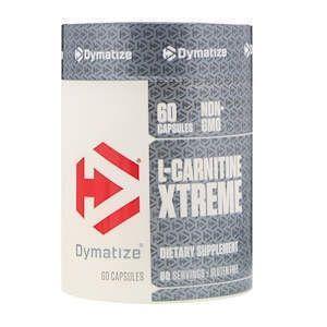 Карнитин фумарат, L-Carnitine Xtreme, Dymatize Nutrition, 60 капсул