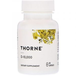 Витамин Д-10 000, Thorne Research, 60 кап. (Default)