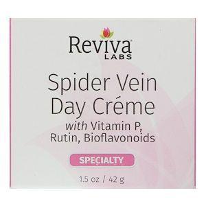Дневной крем для вен с витамином Р, Spider Vein, Reviva Labs, 42 г
