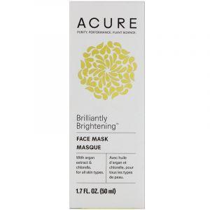 Маска для лица, Face Mask, Acure Organics, 50 мл (Default)