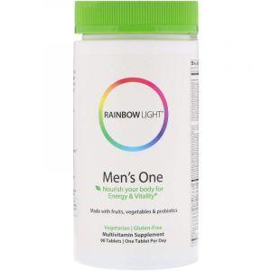Витамины для мужчин, Multivitamin, Rainbow Light, 90 таблеток (Default)