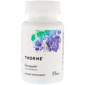 Строительная формула крови, Thorne Research, 60 кап. (Default)