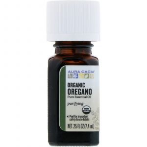 Масло орегано, Oregano Oil, Aura Cacia, органик, 7,4 мл (Default)