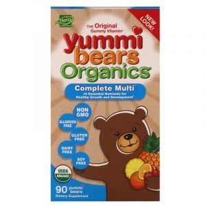 Витамины для детей, Multi-Vitamin, Hero Nutritional Products, мишки Ямми, 90 таблеток (Default)