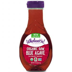 Необработанный нектар голубой Агавы, Raw, Wholesome Sweeteners, Inc, 333 г.