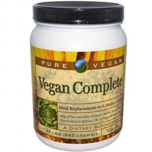 Гороховый протеин ваниль, Pure Advantage, 645 гр