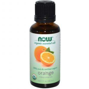 Апельсиновое масло органик, Now Foods, 30 мл
