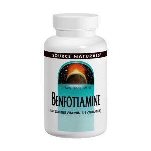 Бенфотиамин, Source Naturals, 150 мг, 60 таб