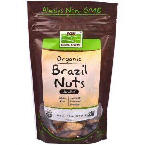 Бразильские сырые орехи, Brazil Nuts, Now Foods, 284 г