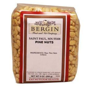 Орехи кедровые, Pine Nuts, Bergin Fruit and Nut Company, 255 г