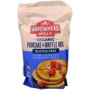 Смесь для приготовления блинов и вафель, Pancake & Waffle Mix, Arrowhead Mills, 737 г