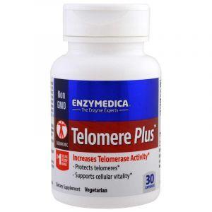 Защита теломер, Telomere Plus, Enzymedica, 30 капсул
