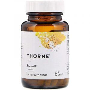 Сахаромицеты буларди, Sacro-B Probiotic, Thorne Research, 60 капсул (Default)