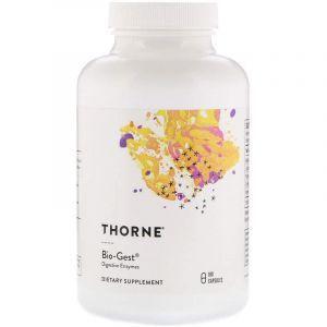 Био гест, Bio-Gest, Thorne Research, 180 капсул (Default)