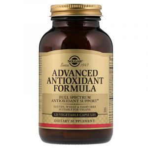Антиоксидантный комплекс, Advanced Antioxidant Formula, Solgar, 120 капсул (Default)