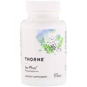 Фосфатидилсерин (Iso-Phos), Thorne Research, 60 капсул (Default)