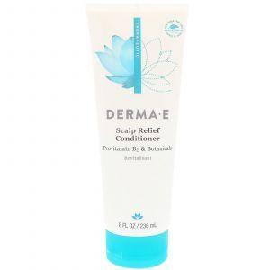 Кондиционер для волос, Scalp Relief Conditioner, Derma E, 236 мл
