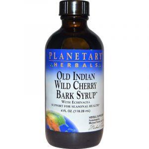 Экстракт дикой вишни (Cherry Bark Syrup), Planetary Herbals, сироп, 118.28 мл (Default)