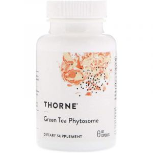 Зеленый чай (Green Tea Phytosome), Thorne Research, 60 капсул (Default)