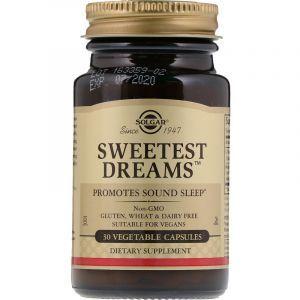 Сладкий сон, Sweetest Dreams, Solgar, 30 капсул (Default)