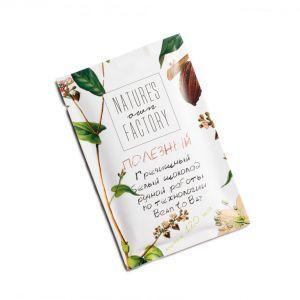 Белый шоколад с гречишным чаем, Natures own factory, 20 гр