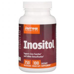 Инозитол, Inositol, Jarrow Formulas, 750 мг, 100 капсул (Default)