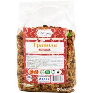 Гранола фруктовая (в полипропиленовой упаковке), Оats&Honey, 500 г