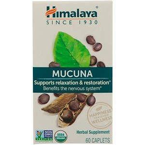 Мукуна (Капикачху), Mucuna,  Himalaya, 60 таблеток