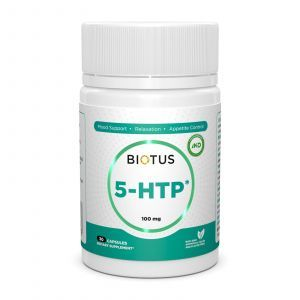 5-HTP (5-гидрокситриптофан), 5-HTP, Biotus, 30 капсул