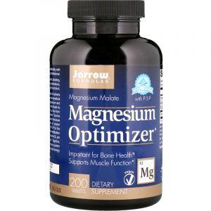 Оптимизатор магния, Magnesium Optimizer, Jarrow Formulas, 200 таблеток (Default)