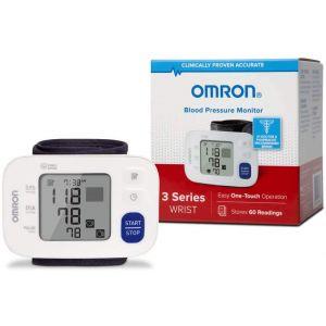 Тонометр для измерения артериального давления, Blood Pressure Monitor, 3 Series, Omron, на запястье, 1 шт