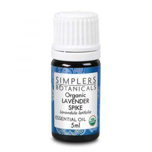 Эфирное масло лаванды, Organic Lavender Spike, Simplers Botanicals, 5 мл