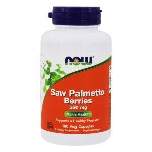 Со Пальметто, Saw Palmetto, Now Foods, ягоды, 550 мг, 100 капсул (Default)