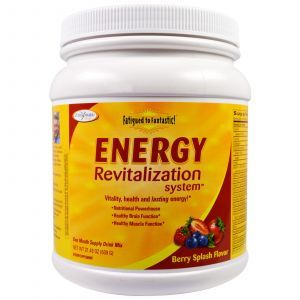 Восстановление энергии, Energy Revitalization System, Enzymatic Therapy (Nature's Way), от усталости, ягоды, 609 г. (Default)