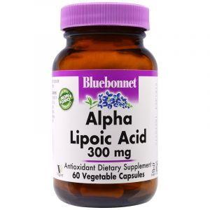 Альфа-липоевая кислота, Alpha Lipoic Acid, Bluebonnet Nutrition, 300 мг, 60 капсул (Default)Альфа-липоевая кислота, Alpha Lipoic Acid, Bluebonnet Nutrition, 300 мг, 60 капсул (Default)